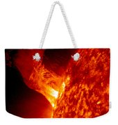 Solar Eruption Weekender Tote Bag