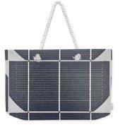 Solar Panel Collector Closeup View Weekender Tote Bag