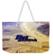 Solar Panels Aerial View Weekender Tote Bag