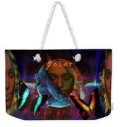 Solar Night Weekender Tote Bag