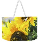 Solar Sunflowers Weekender Tote Bag