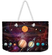 Solar System 1 Weekender Tote Bag by Garry Walton