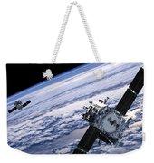 Solar Terrestrial Relations Observatory Satellites Weekender Tote Bag