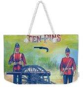 Soldier Ten-pins Weekender Tote Bag