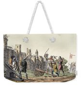 Soldiers And Artillery Of The 15th Weekender Tote Bag