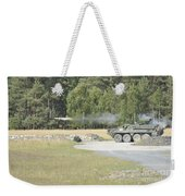 Soldiers Fire A Tow Missile Weekender Tote Bag