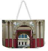 Soldiers In The Outer Court Of Grand Palace Of Thailand In Bangkok Weekender Tote Bag