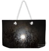 Solemn Winter's Moonlight Weekender Tote Bag