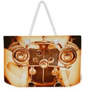 Solid Gold Mercedes Weekender Tote Bag