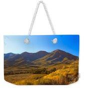 Solider Mountain Shadows Weekender Tote Bag