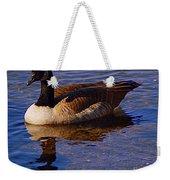 Solitary Goose Weekender Tote Bag