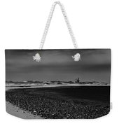 Solitary Lighthouse Weekender Tote Bag