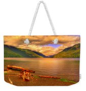 Solitude On Crescent Lake Weekender Tote Bag