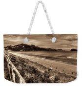 Solitude Sepia Weekender Tote Bag
