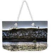 Solo At The Harbor At Dusk 2 Weekender Tote Bag