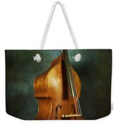 Solo Upright Bass Weekender Tote Bag