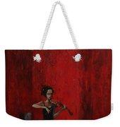 Solo Violinist Weekender Tote Bag