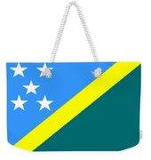 Solomon Island Flag Weekender Tote Bag