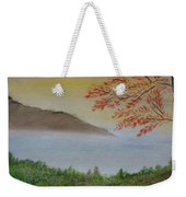 Some Alone Time Weekender Tote Bag by Sayali Mahajan