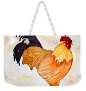 Some Days You Have To Paint A Rooster Weekender Tote Bag