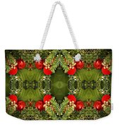Some Of The Colors Of Christmas Altered Version  Weekender Tote Bag