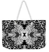 Some Reflections - A Lines And Dots And Gradual Shadings Compilation Weekender Tote Bag