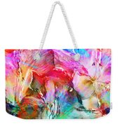 Somebody's Smiling - Abstract Art Weekender Tote Bag
