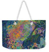 Someone's Footprint On The Universe's Face Weekender Tote Bag