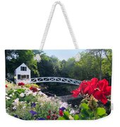 Somesville Bridge And Home Weekender Tote Bag
