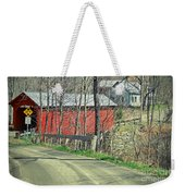 Somewhere In Vermont Weekender Tote Bag