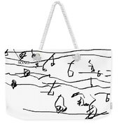 Song Weekender Tote Bag