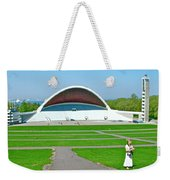 Song Festival Amphitheatre In Tallinn-estonia Weekender Tote Bag