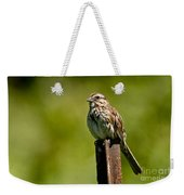 Song Sparrow Pictures 135 Weekender Tote Bag