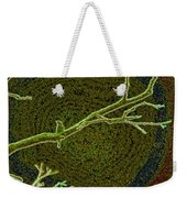 Songbird Green Weekender Tote Bag