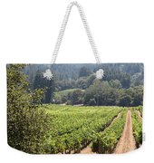 Sonoma Vineyards In The Sonoma California Wine Country 5d24515 Square Weekender Tote Bag