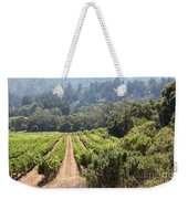 Sonoma Vineyards In The Sonoma California Wine Country 5d24518 Weekender Tote Bag