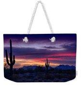 Sonoran Desert Skies  Weekender Tote Bag