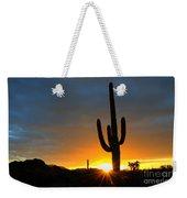 Sonoran Desert Sunrise 4 Weekender Tote Bag