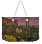 Sonoran Romance Weekender Tote Bag