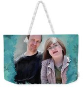 Soon To Be Mr And Mrs Jackson Weekender Tote Bag