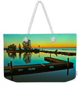Soothing Sunset Weekender Tote Bag