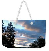 Soothing Sunset Weekender Tote Bag