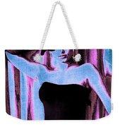 Sophia Loren - Blue Pop Art Weekender Tote Bag
