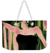 Sophia Loren - Pink Pop Art Weekender Tote Bag
