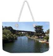 Soquel Creek Capitola Weekender Tote Bag