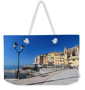 Sori Waterfront. Italy Weekender Tote Bag