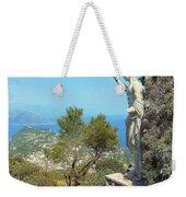 Sorrento Peninsula From Mt Solaro Capri  Weekender Tote Bag