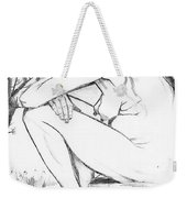 Sorrow After Vincent Van Gogh  Weekender Tote Bag