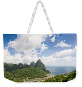 Soufriere St. Lucia Weekender Tote Bag