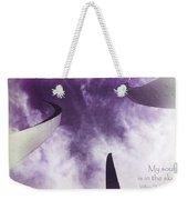 Soul In The Sky - Us Air Force Memorial Weekender Tote Bag